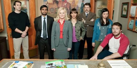 Outfit Ideas for Andy Dwyer, Ann Perkins, April Ludgate, Ben Wyatt, Burt Macklin, Duke Silver, Janet Snakehole, Leslie Knope, Ron Swanson, Tom Haverford