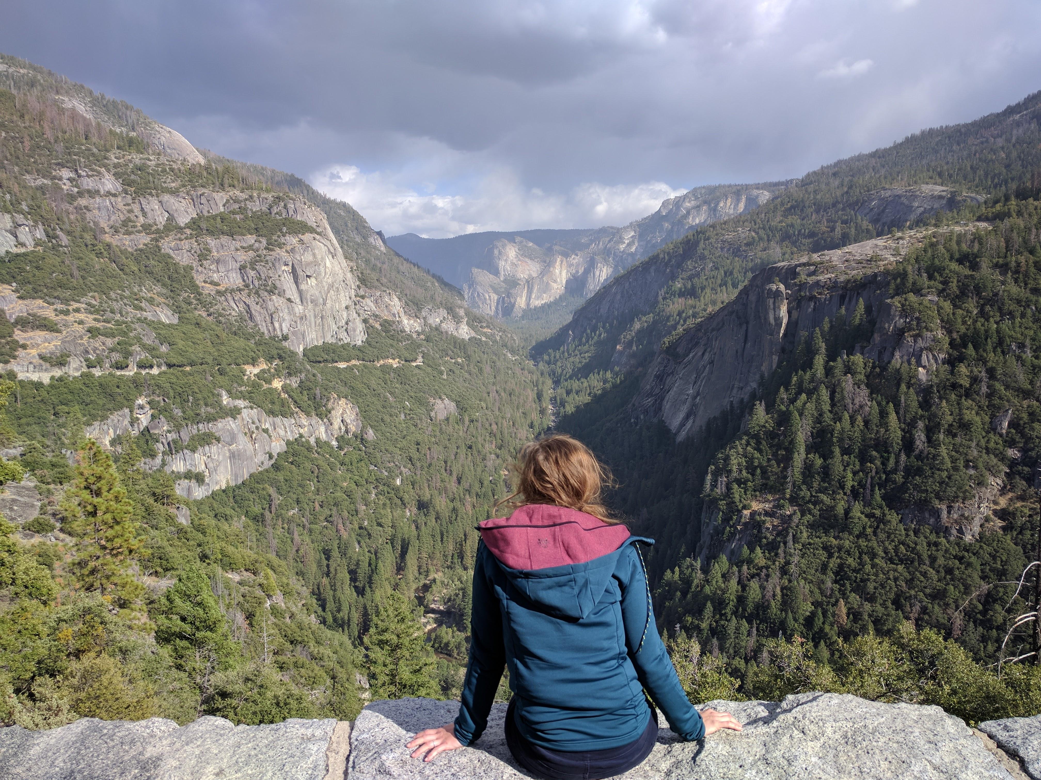 De mooie uitzichten in Yosemite zijn eindeloos (en de foto momentjes dus ook)!