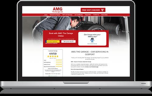 AMG the Garage testimonial