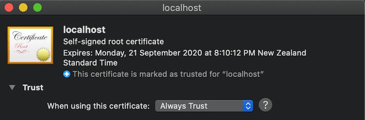 TrustLocalhost