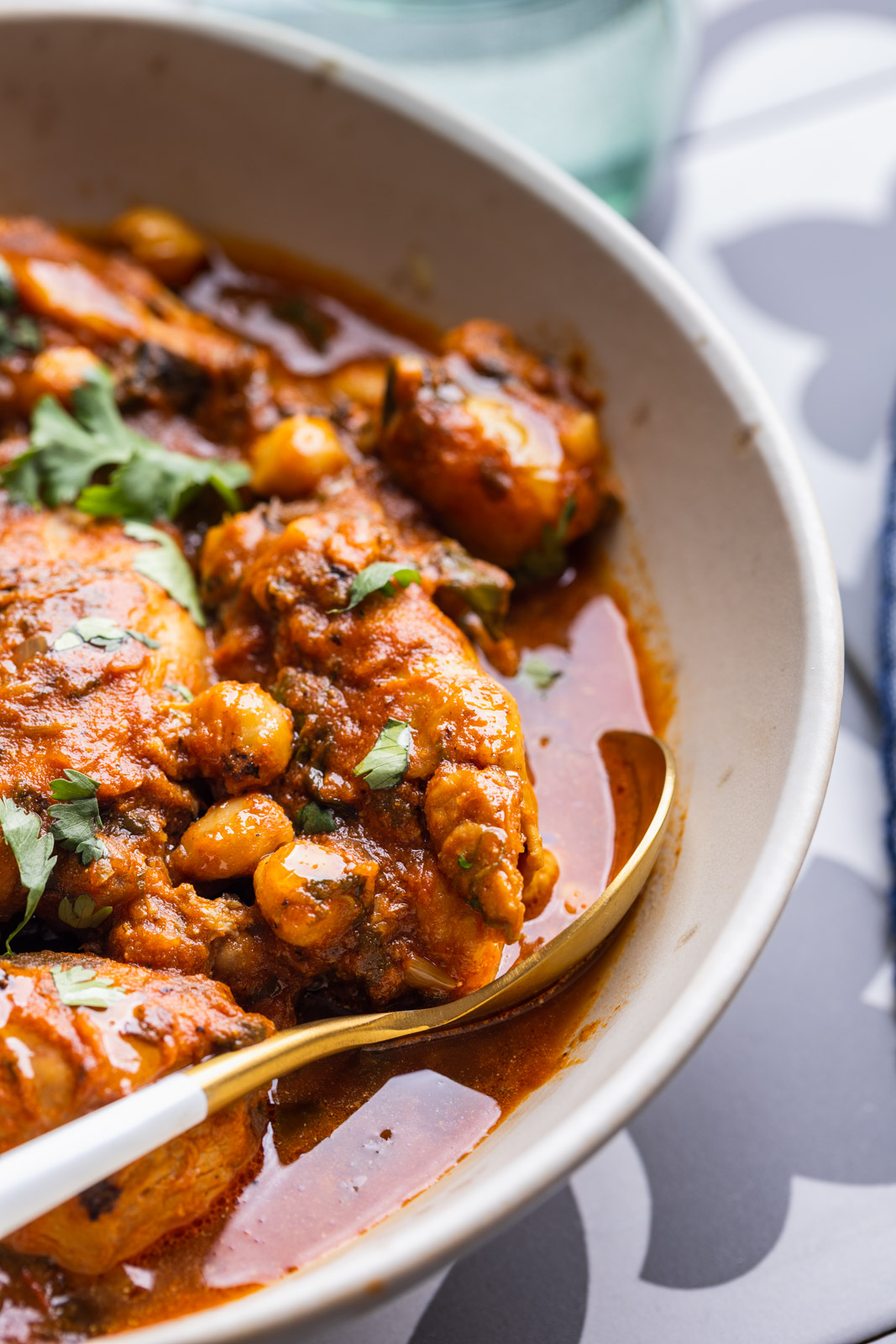 Quick and Easy Chicken and Chickpea Masala
