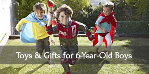 Give your six year old boy an amazing day with all these awesome gifts!