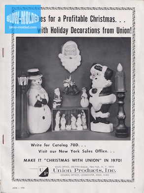 Union Products Catalog Order Ad (Toys and Novelties) (06/1970) preview