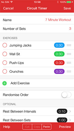 Seconds Pro - The best interval timer app for HIIT, Tabata