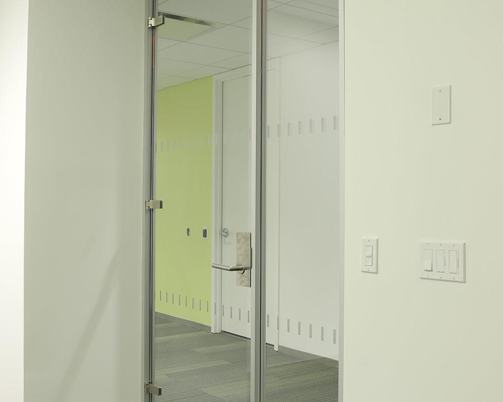 Swinging Glass Door and Panels