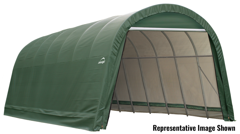 14x20x12 Round Shelter Green Colour