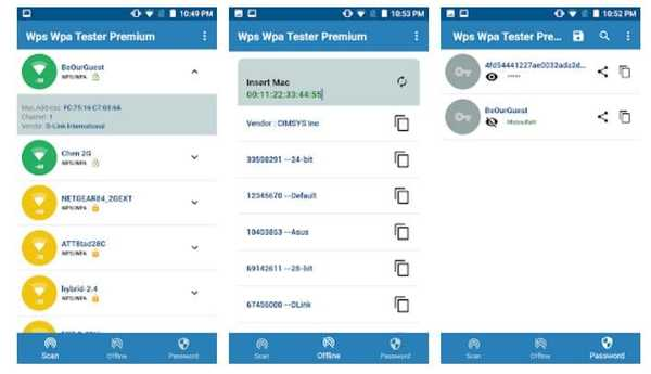 WiFi WPS WPA Tester hacking android app
