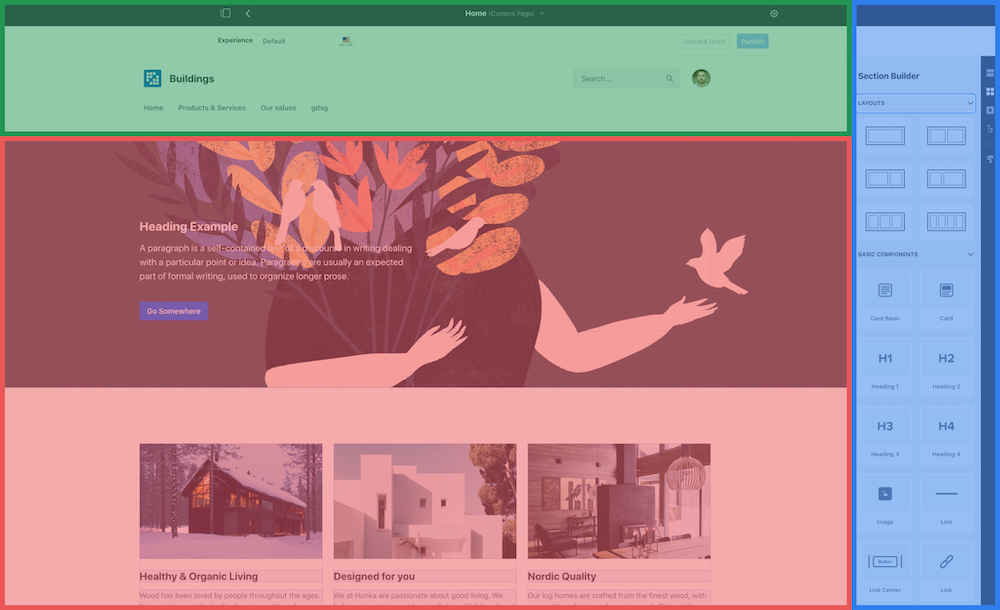 Liferay-portal-layout