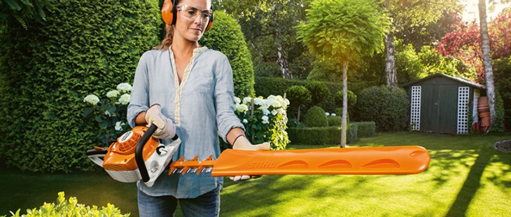 Hedge trimmers and cutters