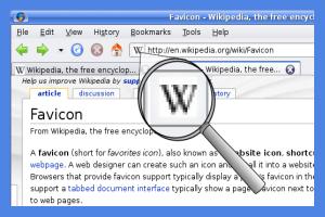 web site favicons