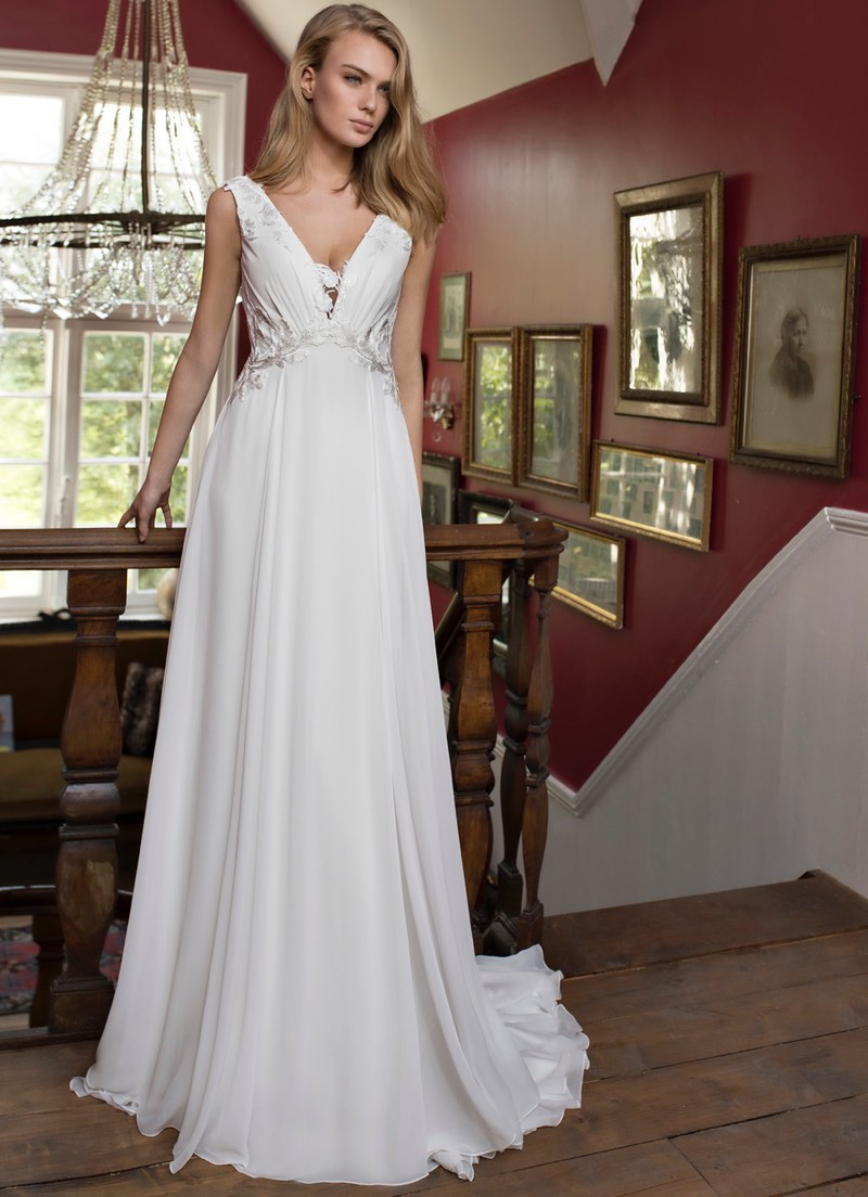 Blue by Modeca Duffy wedding dress