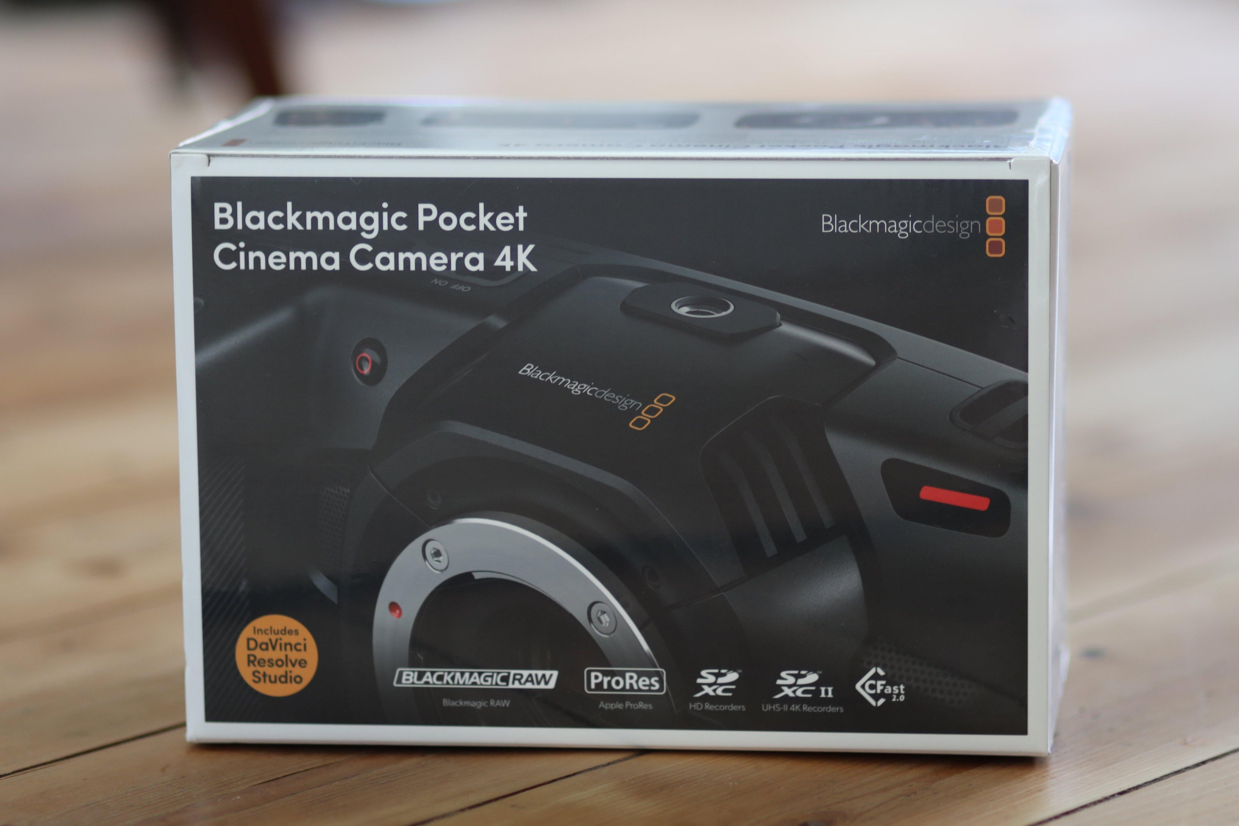 Review Of The Blackmagic Pocket Cinema Camera 4k Filmkit