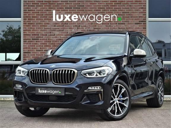 BMW X3 M40i xDrive 360pk Pano ACC 360-cam Adp-LED H/K