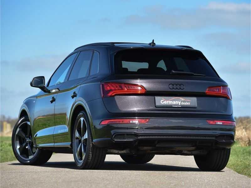 Audi SQ5 3.0TFSI 354pk Quattro Black Optic Alle Opties! Individual Lucht Tr.Haak Standk Ruitleder 360Cam afbeelding 2