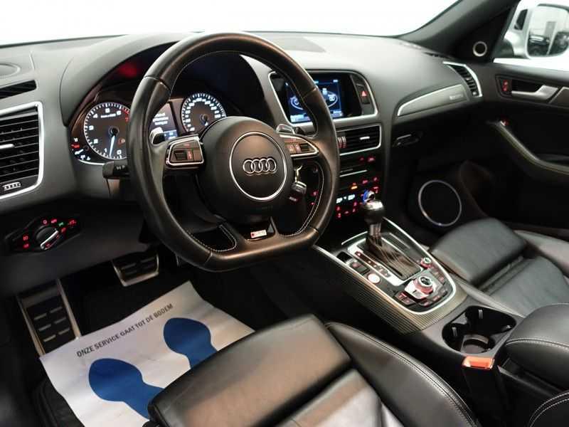 Audi SQ5 3.0 TFSI Quattro 354pk Autom- Panodak, B&O, Leer, Camera, Navi, Xenon, 21 Inch LMV afbeelding 9