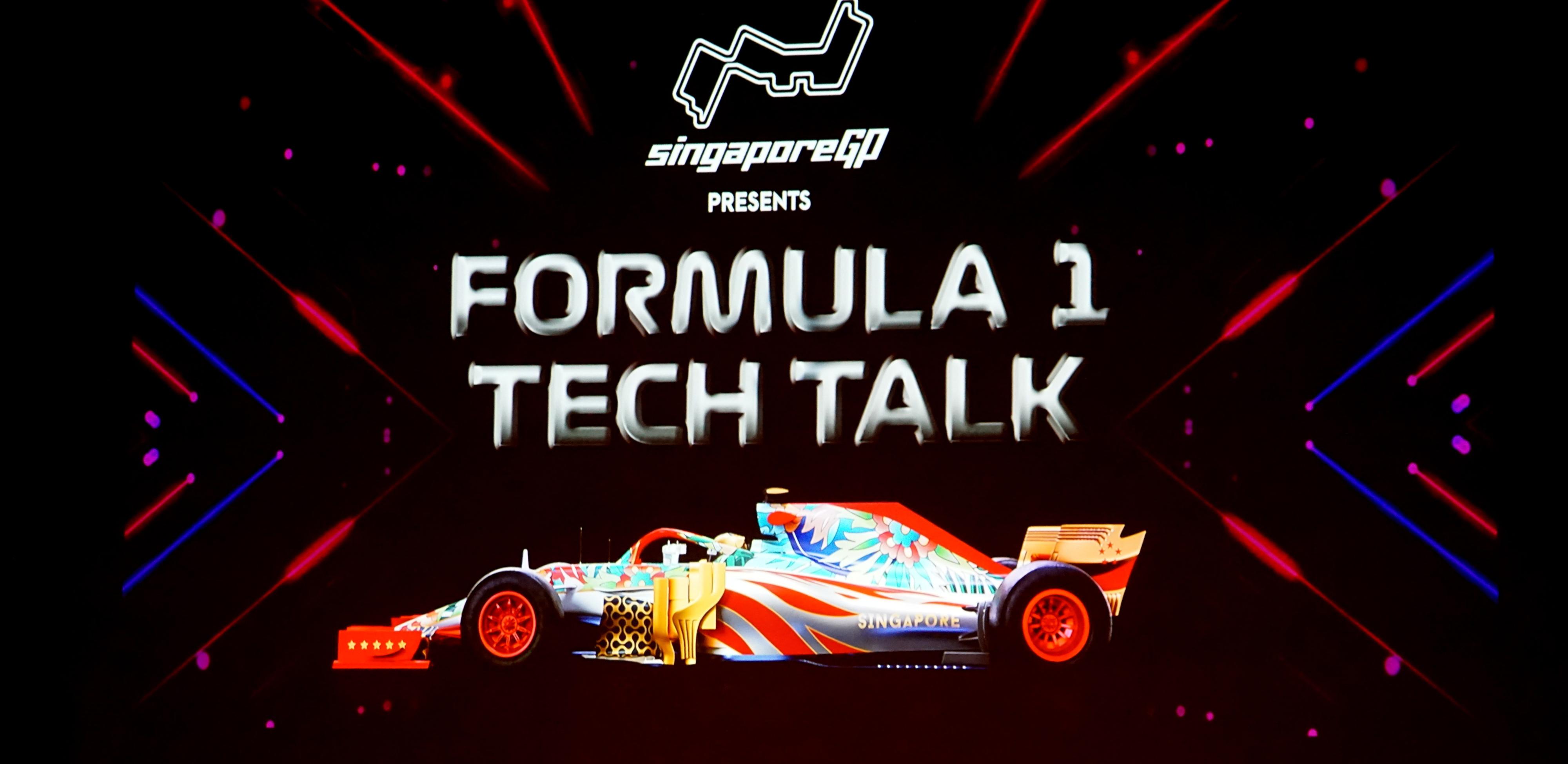 formula 1 tech talk