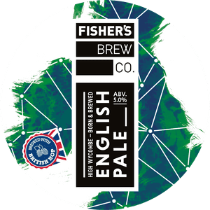 Fisher's English Pale Ale keg badge