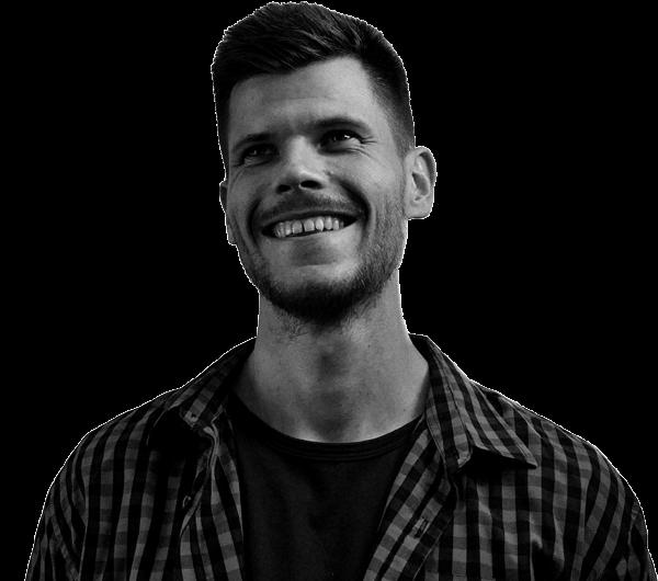 Dominik Jirovský - autoportrét