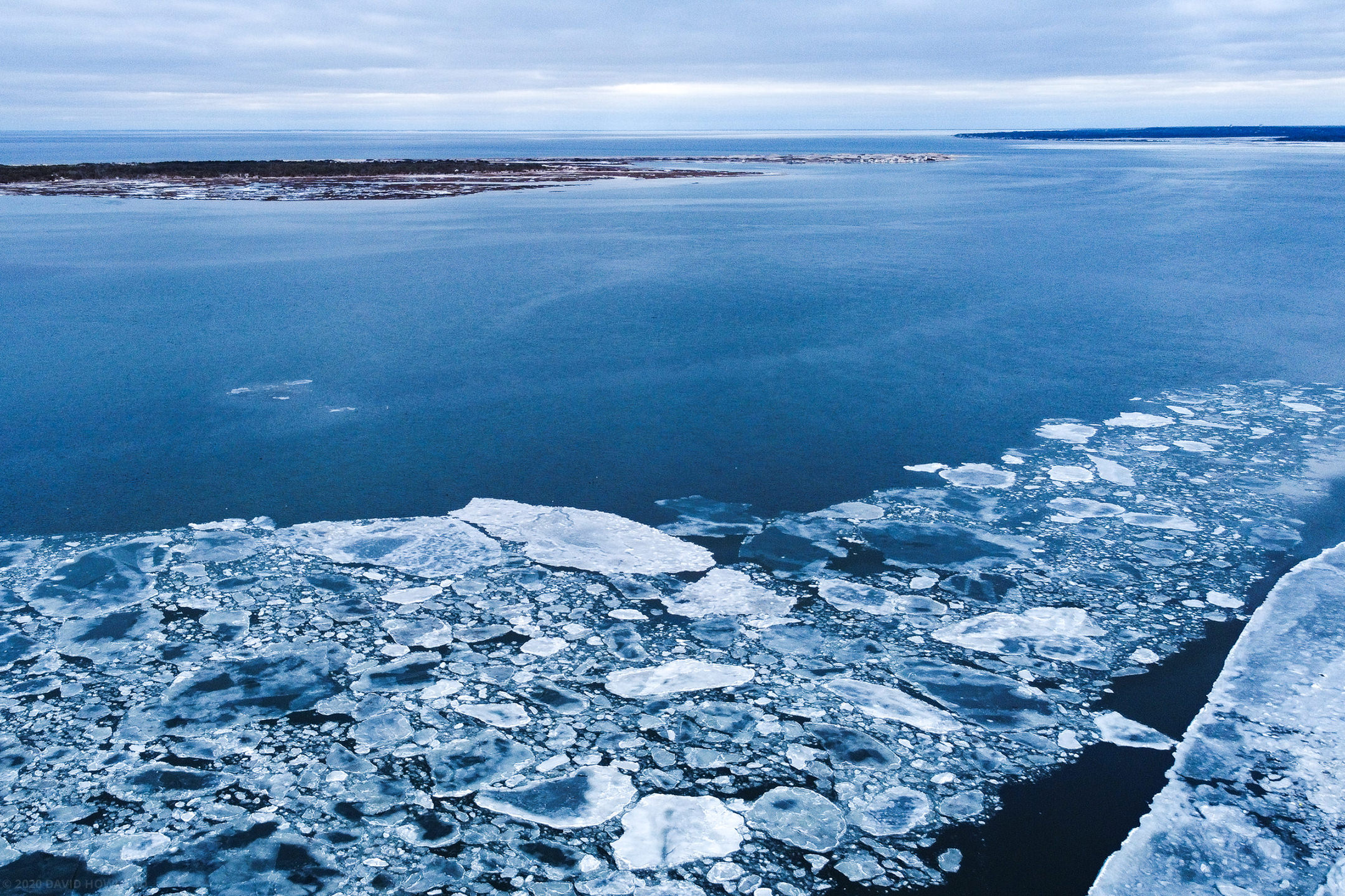 Sea Ice on Cape Cod Bay