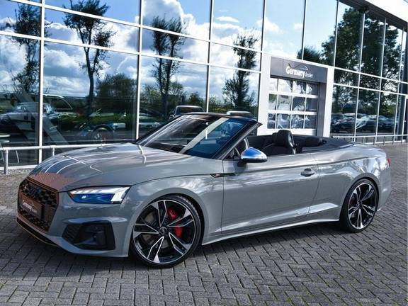 Audi S5 Cabriolet 3.0TFSI quattro 354pk Black Optic Laser-LED B&O 20-Inch Camera RS-Zetels Quantum VOL!