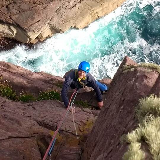 Diamond Face Route, Old Man of Stoer