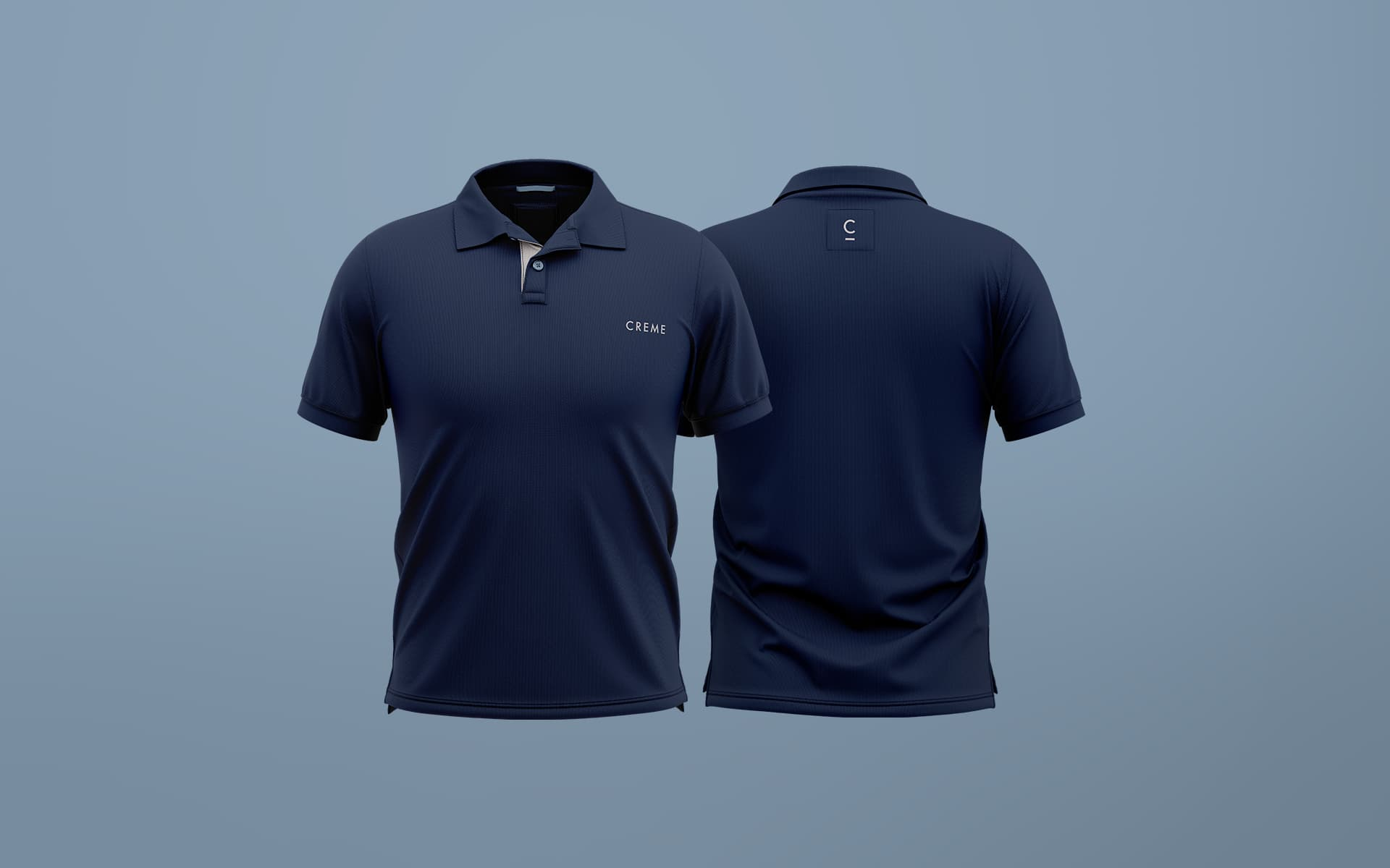 Corporate uniform design, polo shirt