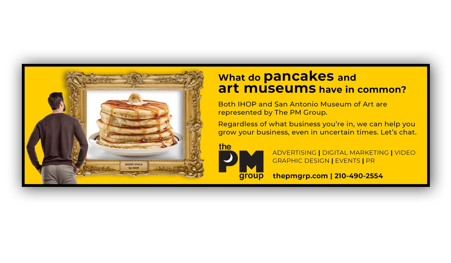 PMG Pancake Art Ad