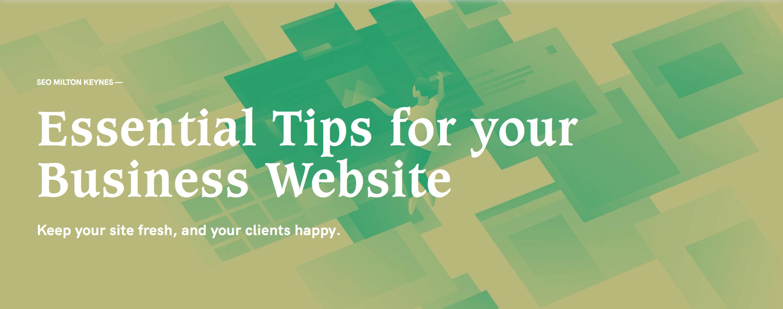essential tips for your business website
