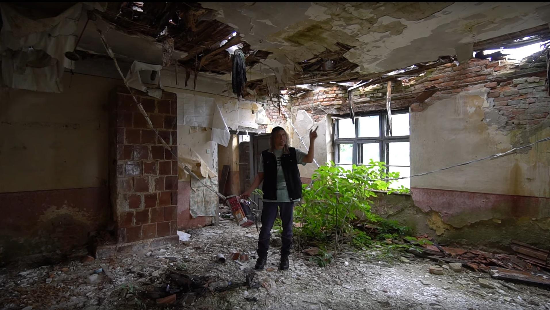 Școală abandonată în Sălaj