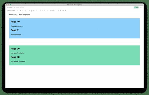 create evernote digital post-it