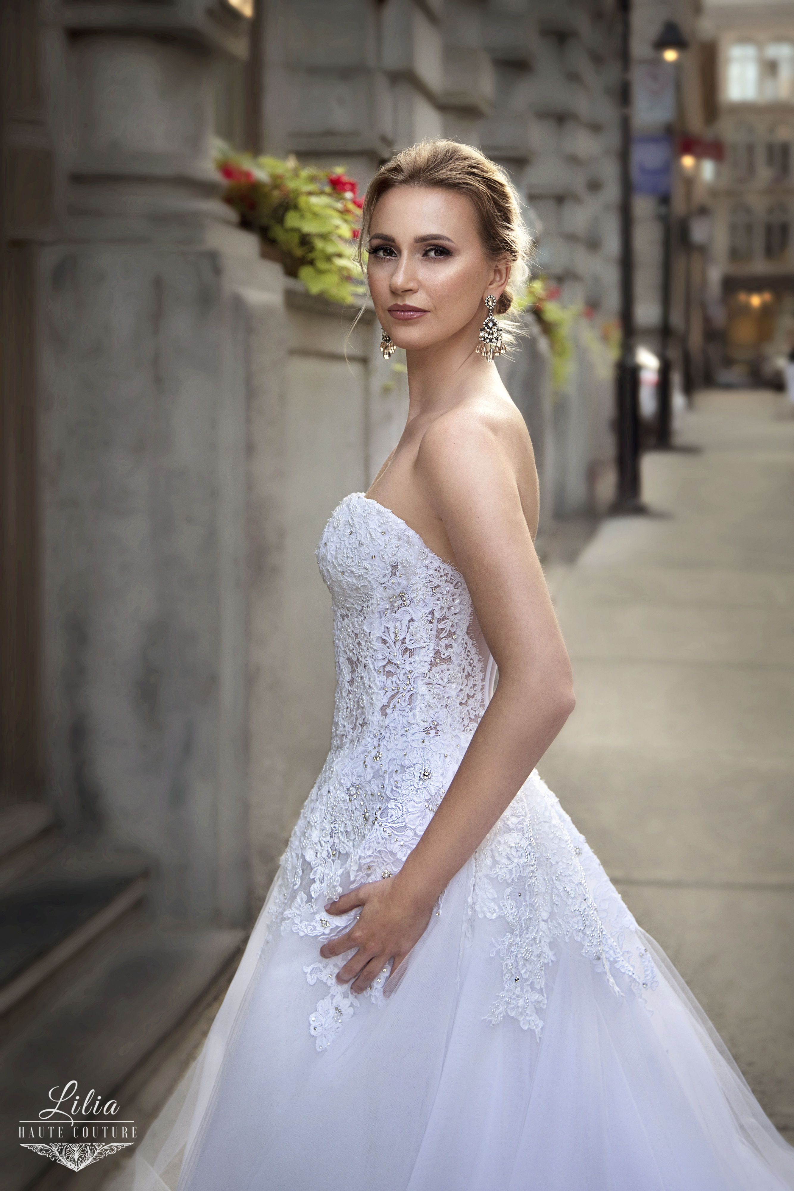 montreal designer bridal wear lilia haute couture ball gown wedding dress