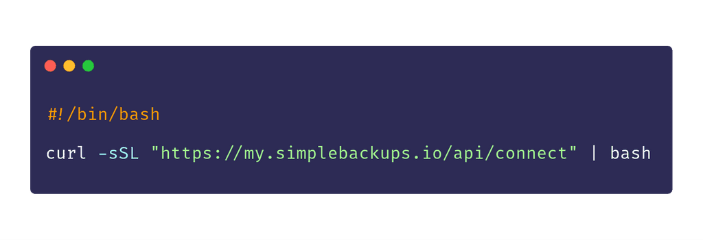 Create a DigitalOcean server backup in style.