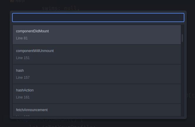 Atom keyboard shortcut preview