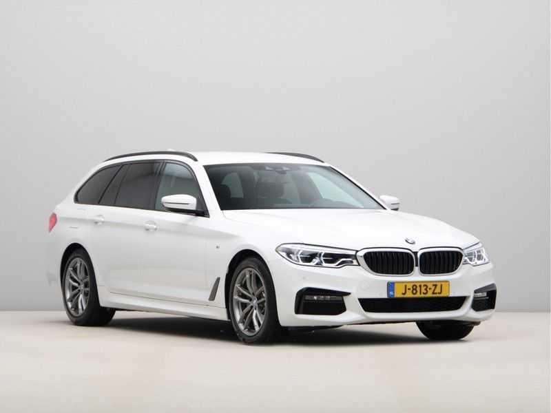 BMW 5 Serie Touring 520d High Executive M-Sport Aut. afbeelding 5