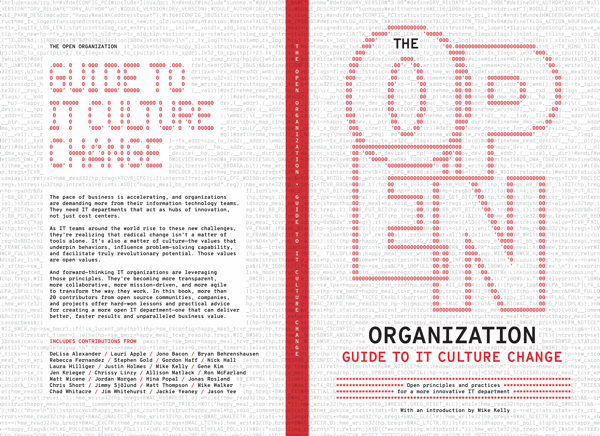 #TheOpenOrg + #Agile + #DevOps = The Open Organization Guide to IT Culture Change