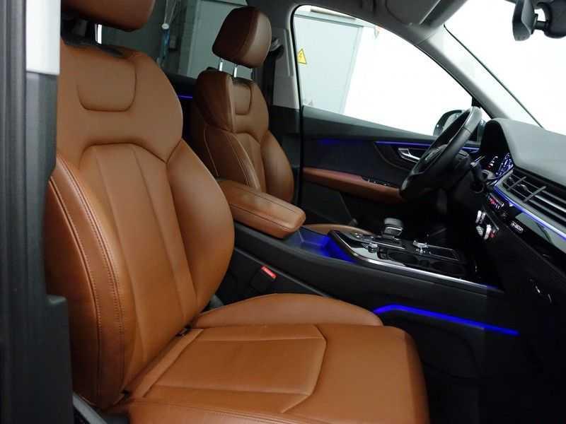 Audi Q7 3.0 TDI e-tron 374pk Quattro S-Line Autom- Bose, Virtual Cockpit, 360 Camera, Park Assist, Leer afbeelding 21