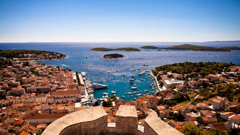 Hvar highlights with yacht hire in Croatia