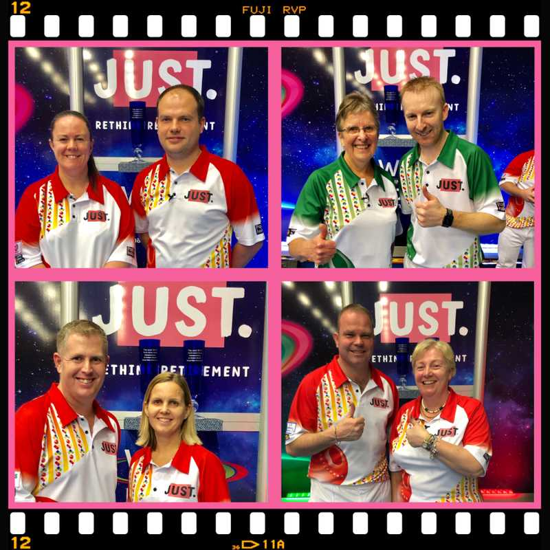 REIGNING CHAMPIONS AND THREE FORMER TITLE WINNING SKIPS  STAY IN THE FRAME FOR THE MIXED PAIRSTITLE