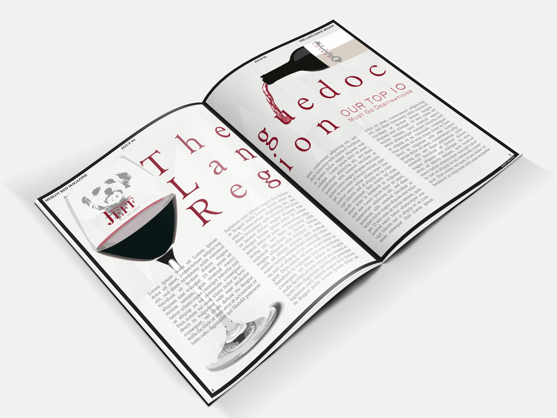 Merlot Red Magazine