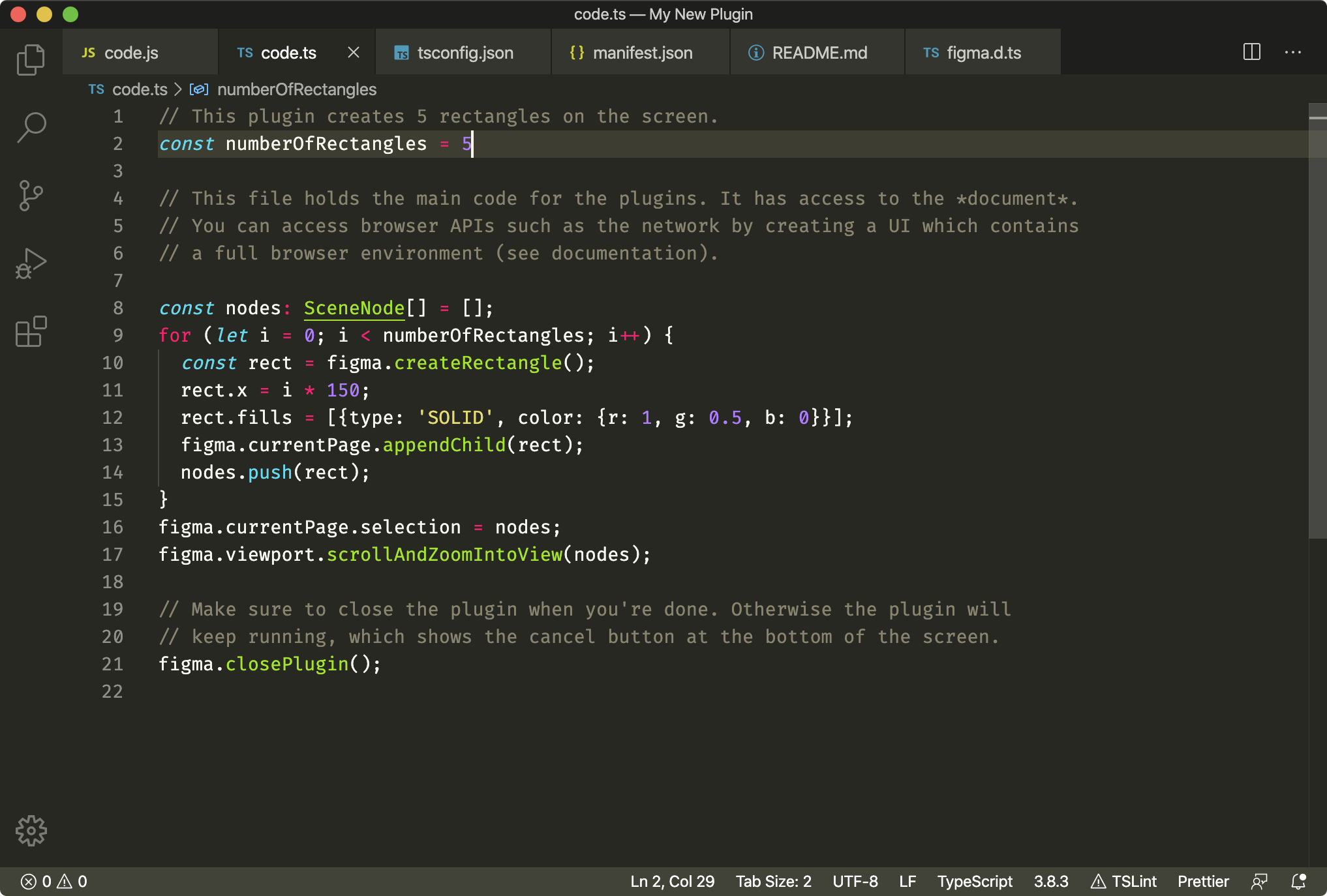 Figma plugin source code.
