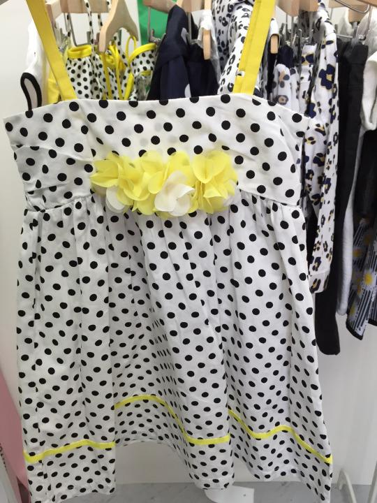 vestido lunares chicco