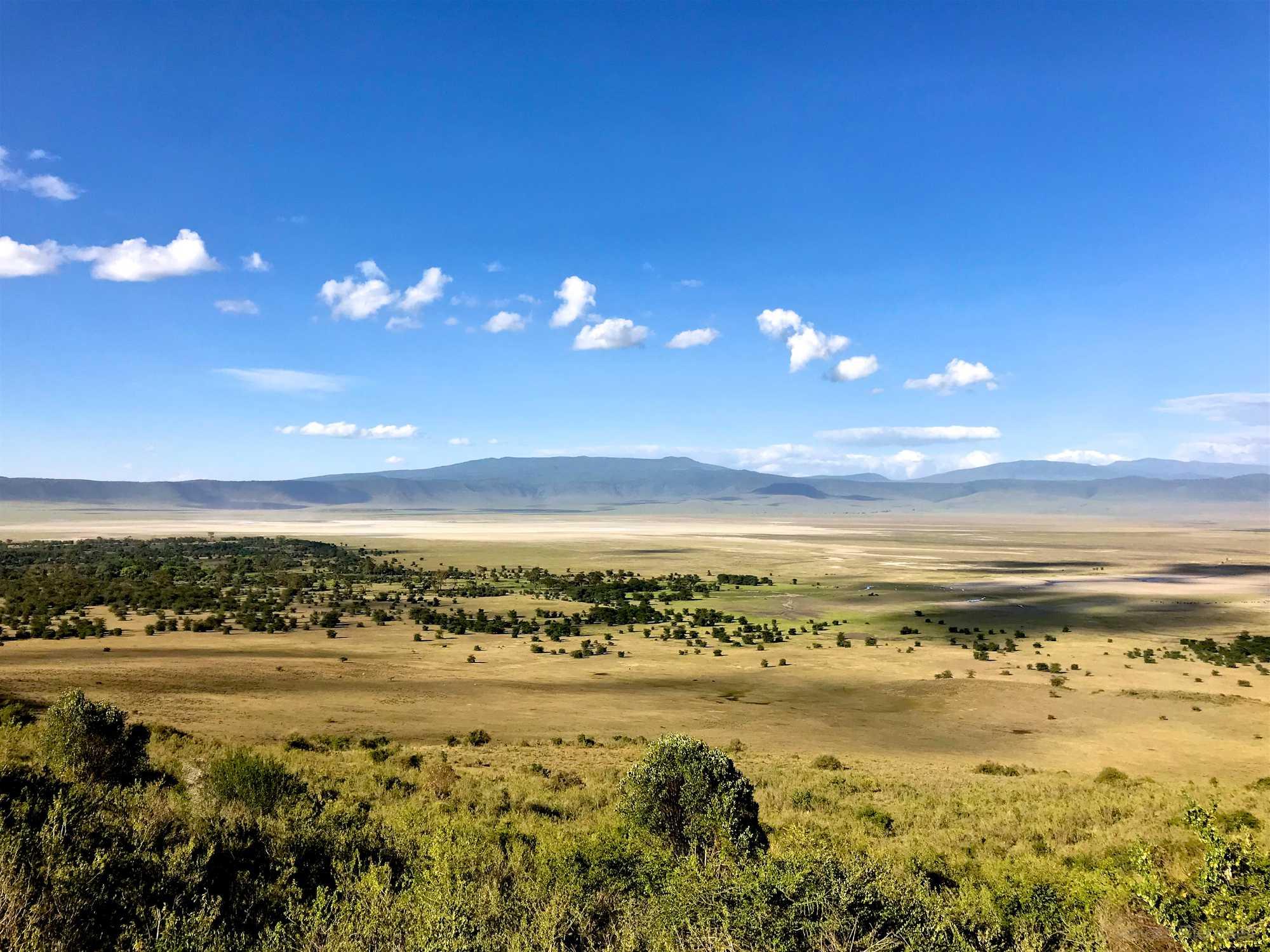 Tanzania Ngorongoro Crater Plane