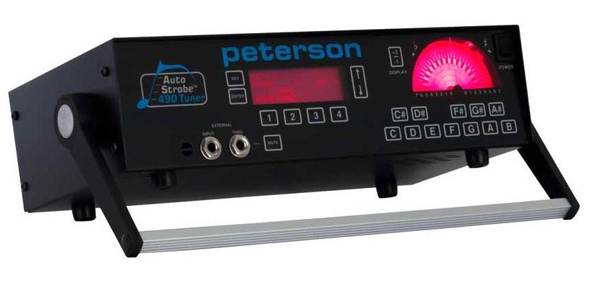 Peterson Strobe Tuner