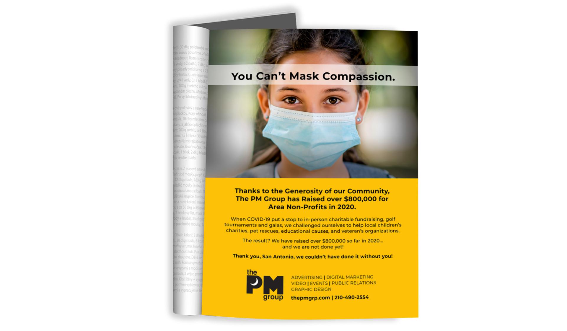 PMG Mask Ad