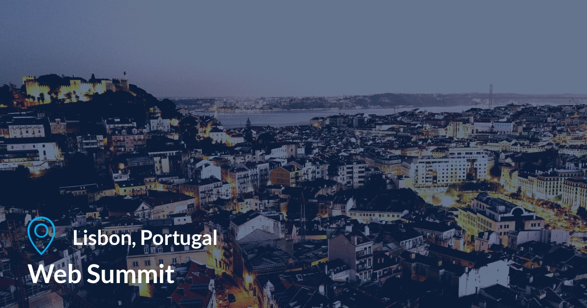 Web Summit in Lisbon, Portugal