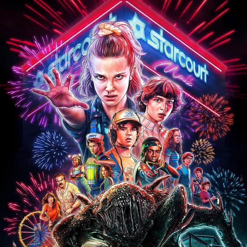 Официальный постер 3-го сезона сериала «Очень странные дела». Источник: Netflix