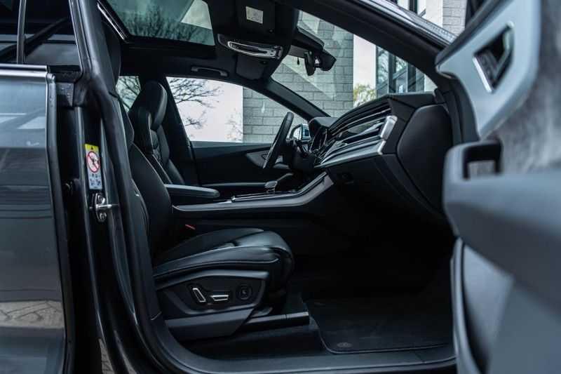 Audi SQ8 Quattro Pro Line S , 435 PK, Black/Optic, Head/Up, Pano/Dak, Valcona/Leder, S/Sportstoelen, 2020, 25DKM!! afbeelding 8