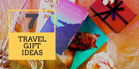Choose a gift that is useful, personal and inspirational for the receiver. These 7 travel gift ideas are perfect for any traveler or backpacker.