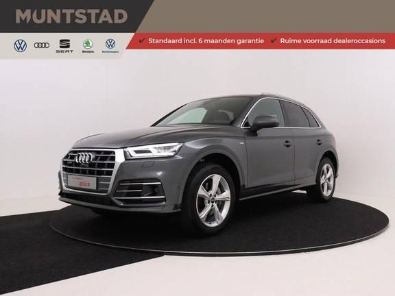 Audi Q5 50 TFSI e 299 pk quattro S edition | S-Line |Assistentiepakket City/Parking/Tour | 360* Camera | Trekhaak wegklapbaar | Elektrisch verstelbare/verwambare voorstoelen | Adaptive Cruise Control | Verlengde fabrieksgarantie
