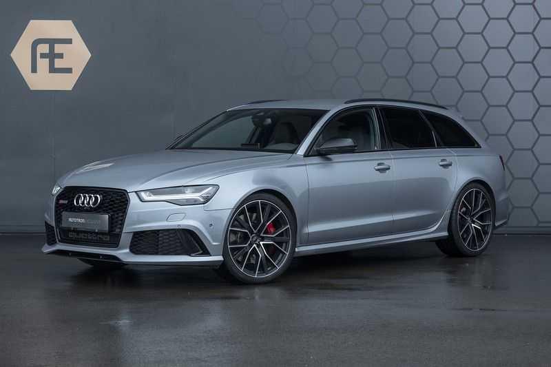 Audi RS6 Avant Performance 4.0 V8 TFSI 605PK Avus Silver Audi Exclusive quattro Pro Line Plus